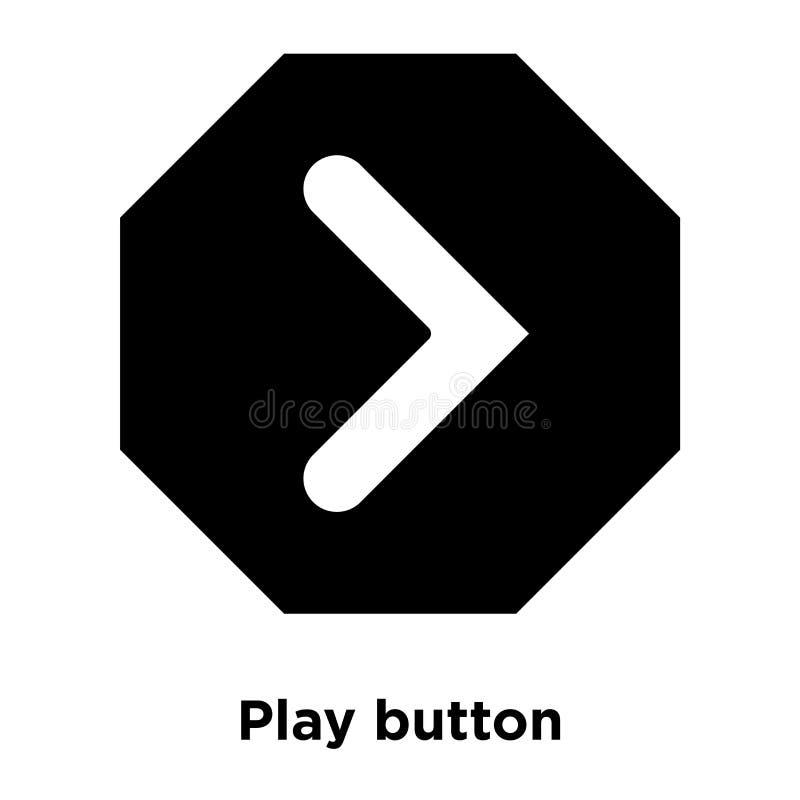 Het pictogramvector van de spelknoop op witte achtergrond, embleemconce wordt geïsoleerd die royalty-vrije illustratie
