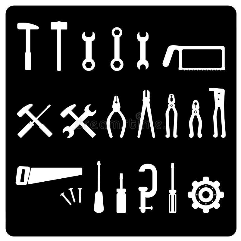 Het pictogramvector van het hulpmiddel royalty-vrije illustratie
