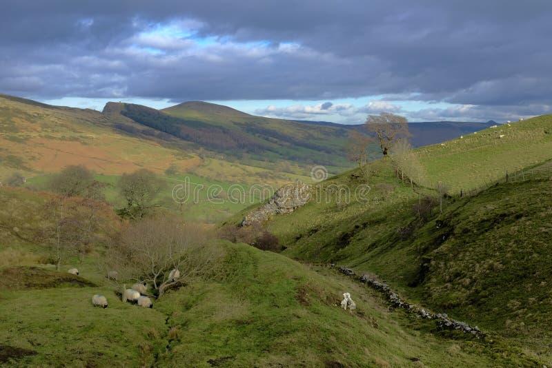 Het Piekdistrict van Derbyshire royalty-vrije stock fotografie