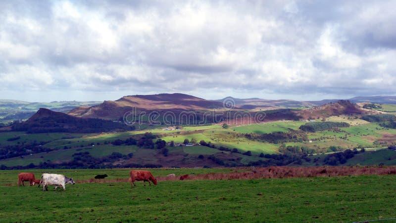 Het Piekdistricts Nationale Park in Engeland royalty-vrije stock afbeelding