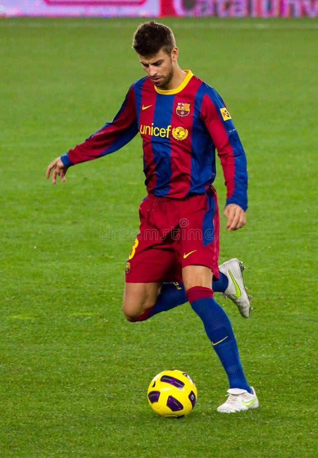 Het Piqué van Gerard (FC Barcelona) royalty-vrije stock fotografie