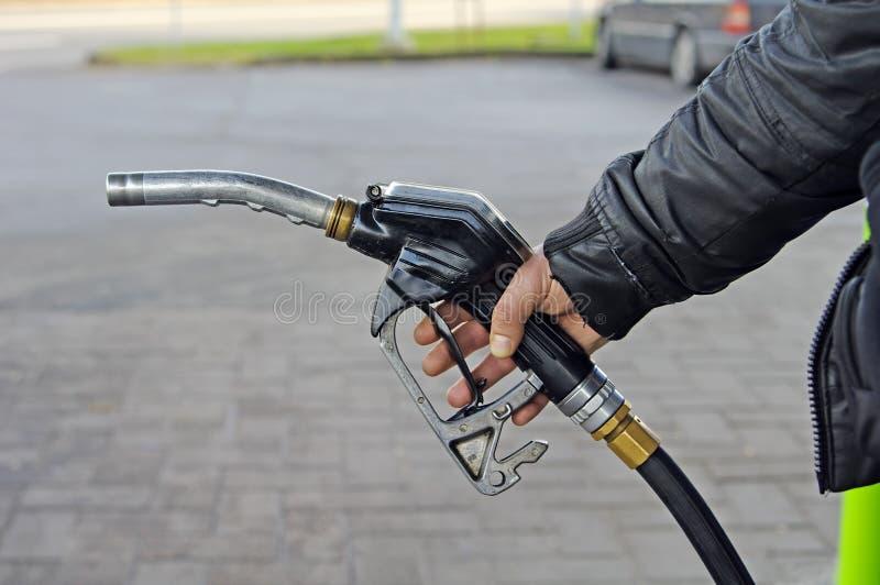 Het pistool van de brandstof royalty-vrije stock foto's