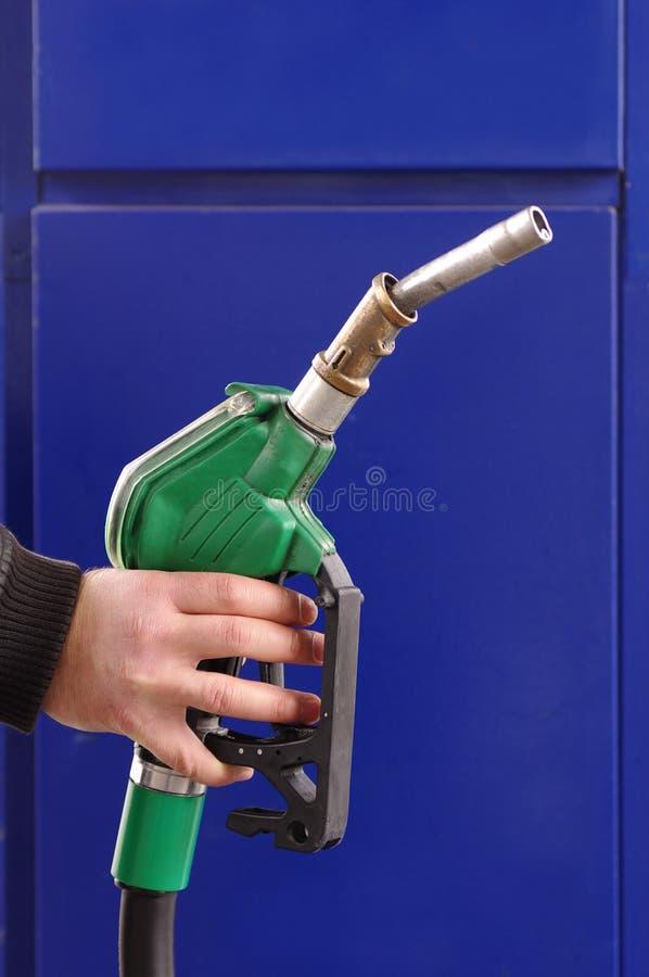 Het pistool van de brandstof royalty-vrije stock afbeeldingen