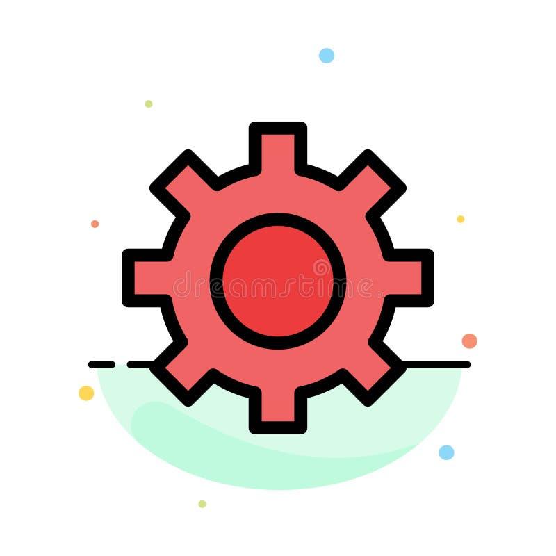 Het plaatsen, Toestel, Interface, het Pictogrammalplaatje van de Gebruikers Abstract Vlak Kleur royalty-vrije illustratie