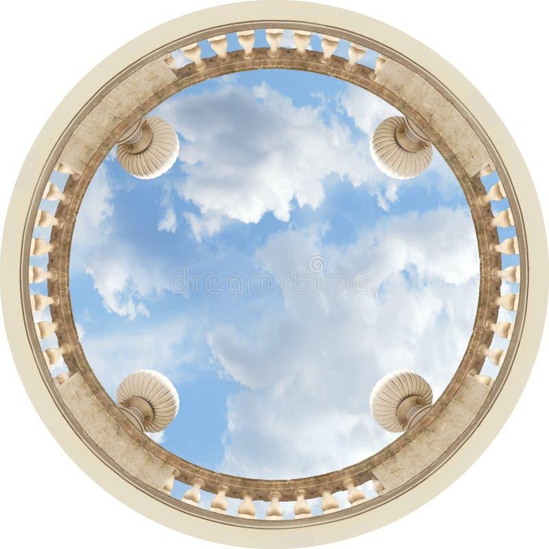 Het plafond van de hemel royalty-vrije stock fotografie