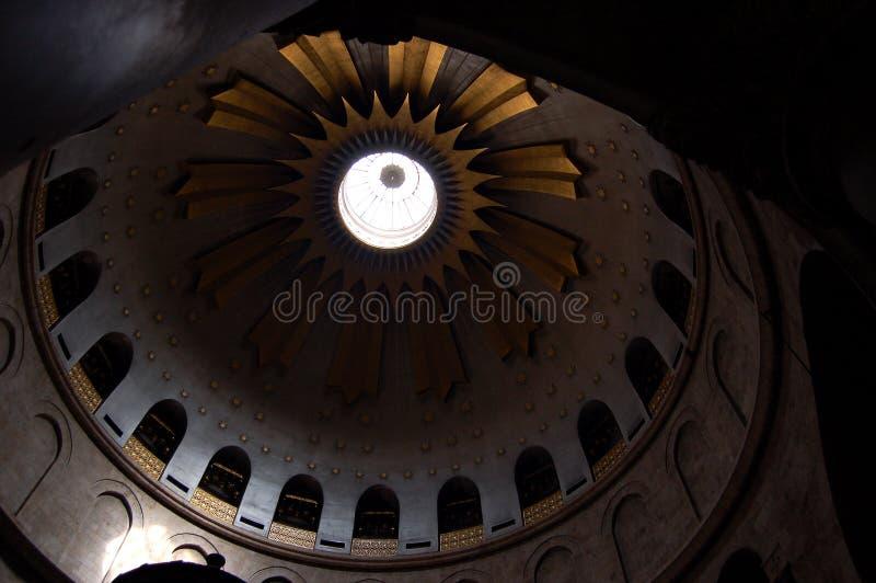 Het plafond van de kerk van het graf. royalty-vrije stock foto's