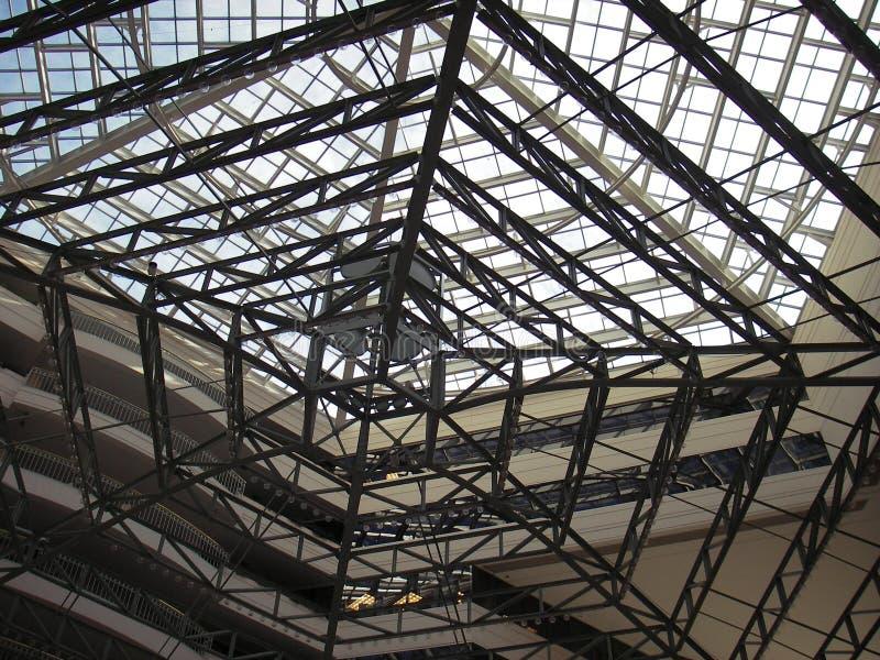 Het Plafond Van Het Winkelcomplex Stock Fotografie