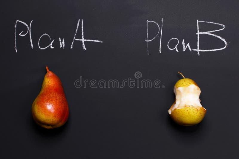 Het plan B is beter dan niets royalty-vrije stock afbeeldingen