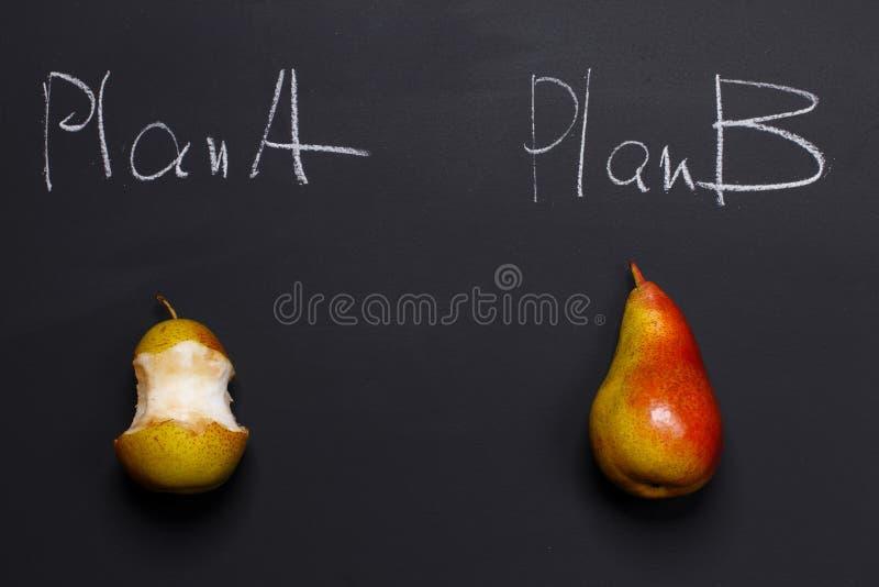 Het plan B is beter dan plant A royalty-vrije stock foto