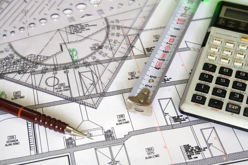 Het plan van de architectuur