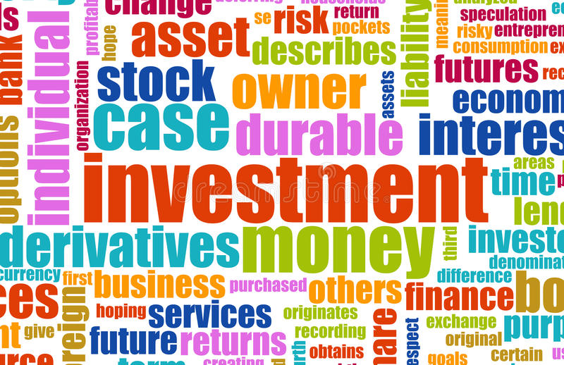 Het Plan van de investering vector illustratie