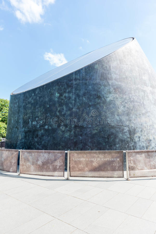 Het planetarium van Greenwich royalty-vrije stock afbeeldingen