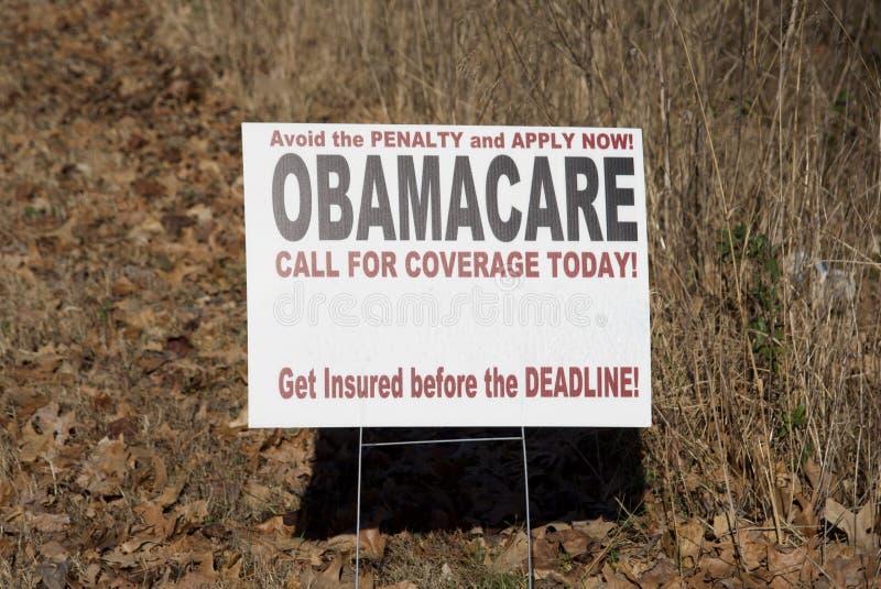 Het Planprogramma van de Obamacaregezondheid royalty-vrije stock foto