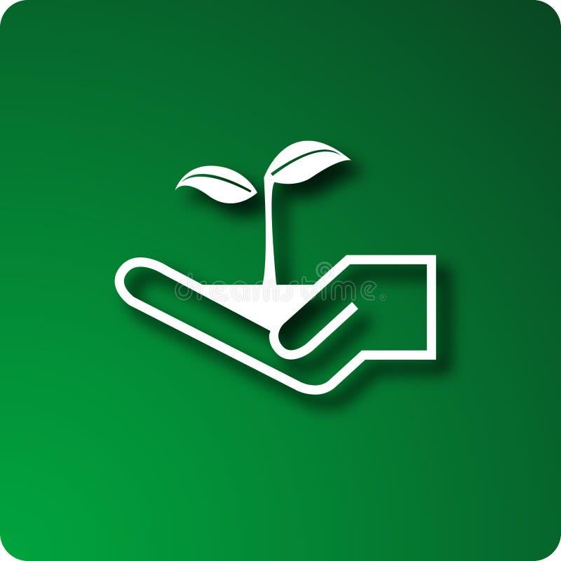 Het planten stock illustratie