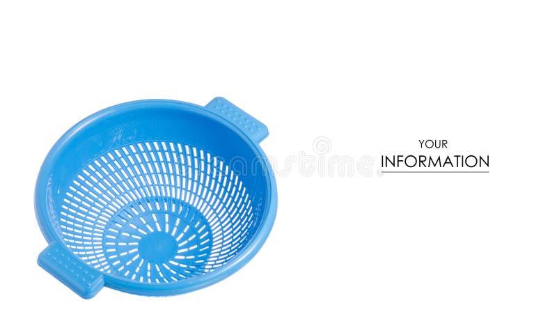 Download Het Plastic In Hand Patroon Van Het Vergietpatroon Stock Foto - Afbeelding bestaande uit beeld, keuken: 114227960