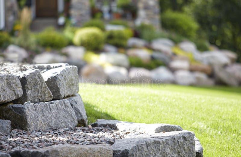 Het platform van de rotsmuur voor product royalty-vrije stock foto