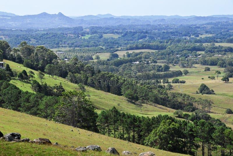 Het platteland van het achterland in Australië royalty-vrije stock foto