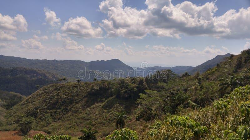 Het Platteland van Trinidad, Cuba stock fotografie