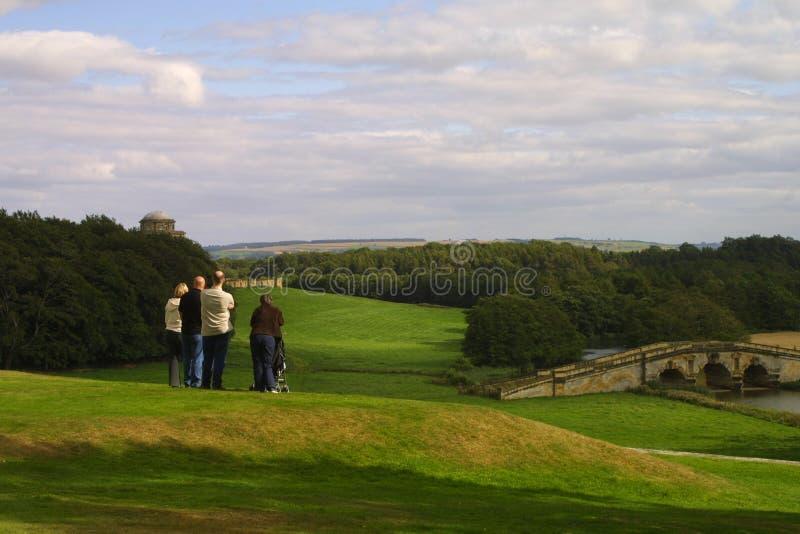Het platteland van Yorkshire royalty-vrije stock foto's