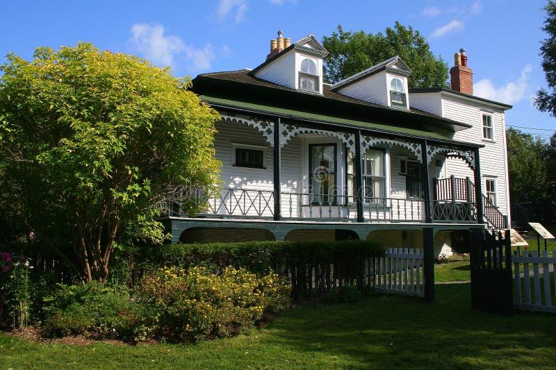 Het Plattelandshuisje van Hawthorne royalty-vrije stock foto's
