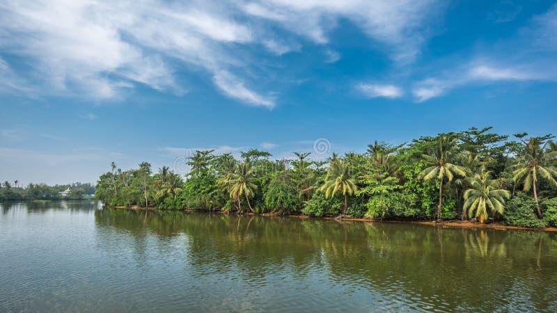 Het Plattelandsrivier van Thailand royalty-vrije stock foto's