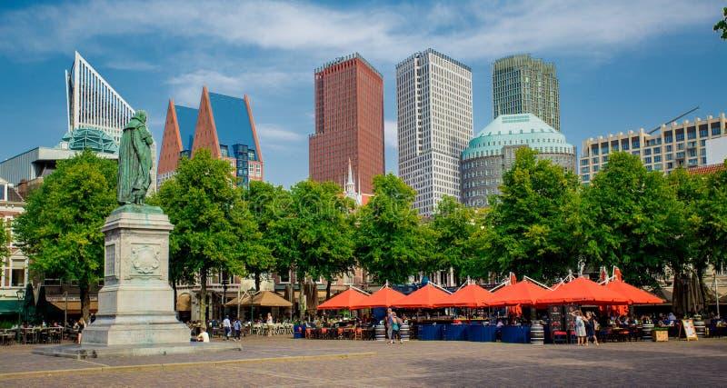 Het Plein de Haia, Países Baixos da Zuid-Holanda em Haia imagem de stock royalty free