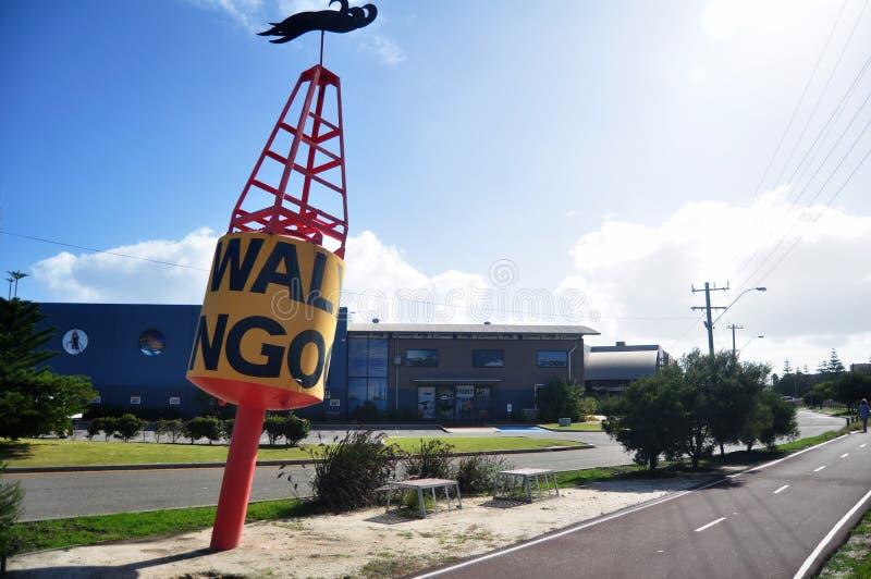 Het plein van het de promenadejacht van de bootopslag op Miauwenweg bij Fremantle-havenstad in Perth, Australië stock foto's
