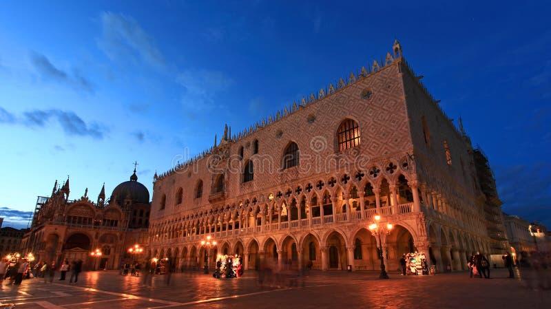 Het plein Venetië van San Marco royalty-vrije stock fotografie
