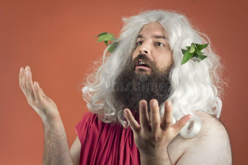 Het pleiten van God royalty-vrije stock foto's