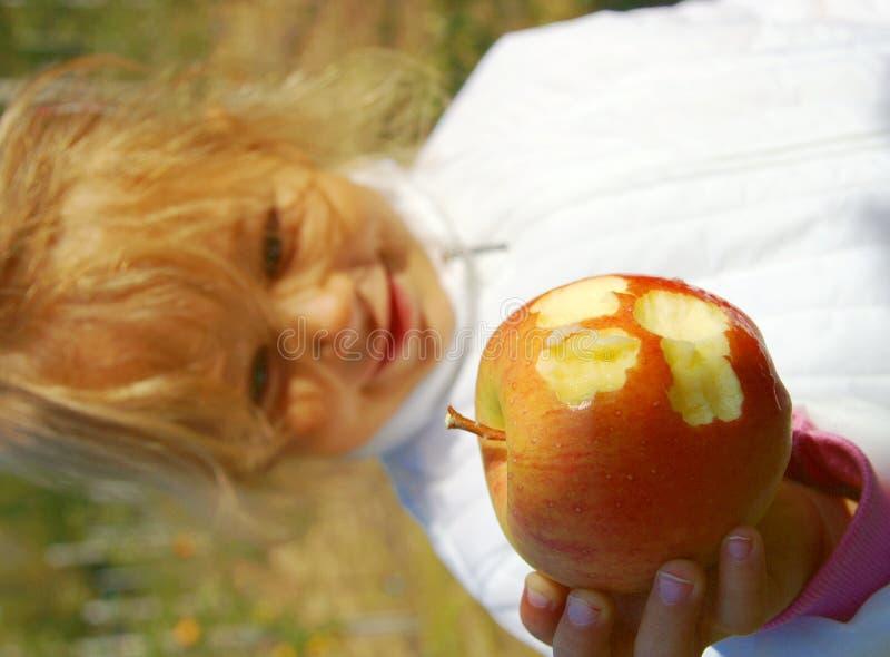 Het Plukken van de appel royalty-vrije stock foto's