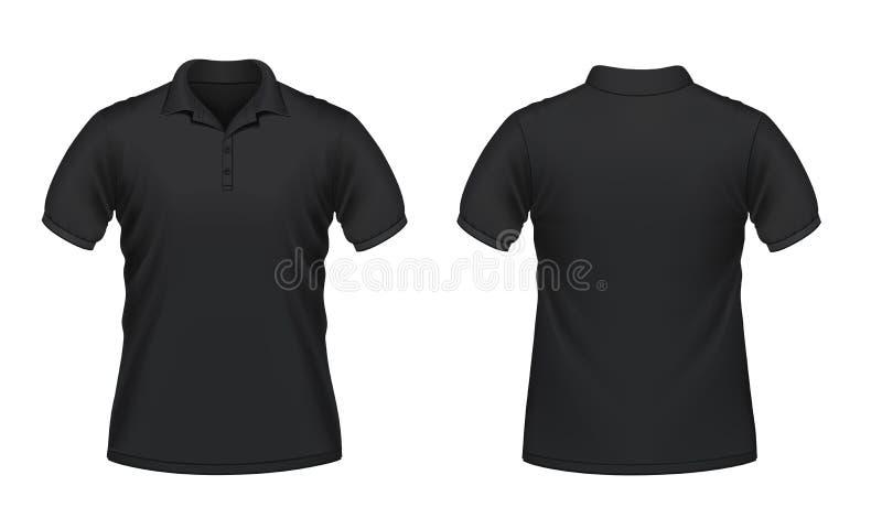 Het polooverhemd van mensen stock illustratie