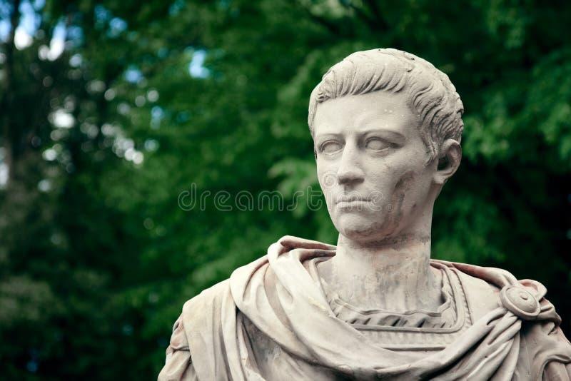 Het Portret van Caligula - Mislukking van Keizer royalty-vrije stock foto