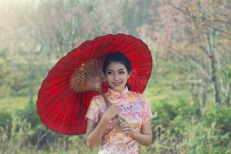 Het portret van China stock afbeelding