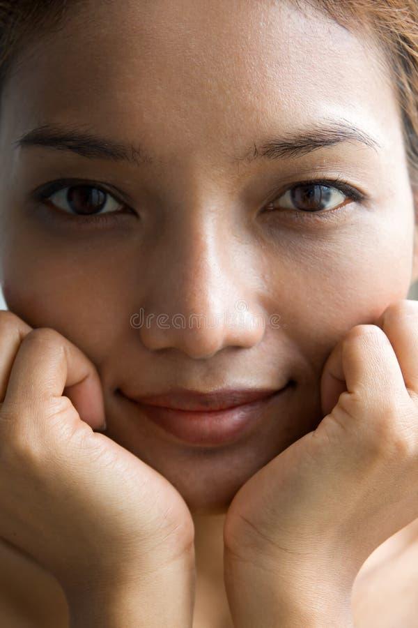 Het portret van de close-up stock foto's