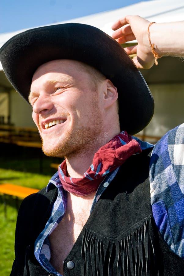 Het portret van de cowboy royalty-vrije stock afbeeldingen