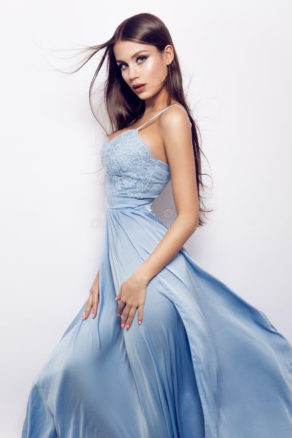 Het portret van de glamourdame royalty-vrije stock foto