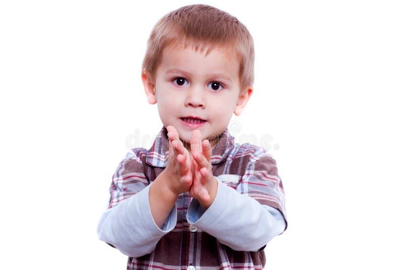 Het portret van de jongen royalty-vrije stock foto