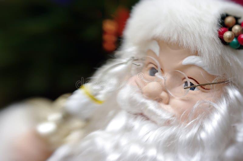 Het portret van de Kerstman royalty-vrije stock afbeelding
