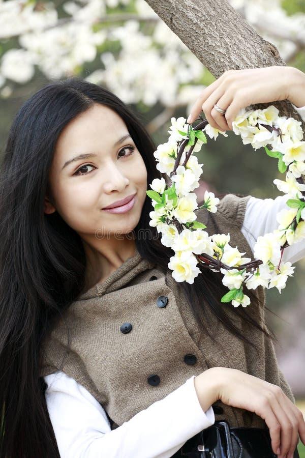 Het portret van de lente stock afbeelding