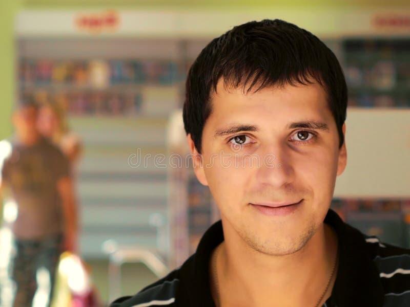 Het Portret van de manager stock foto's
