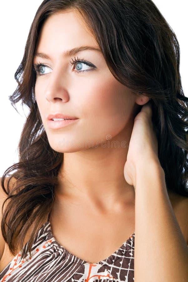 Download Het Portret Van De Schoonheid Stock Foto - Afbeelding bestaande uit twenties, model: 10777150