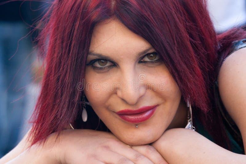 Het portret van de transsexueel stock foto's