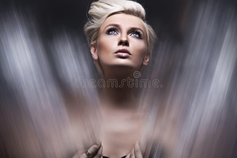 Het Portret van de vrouw royalty-vrije stock foto