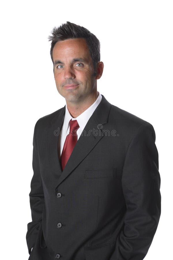 Het Portret van de zakenman stock foto