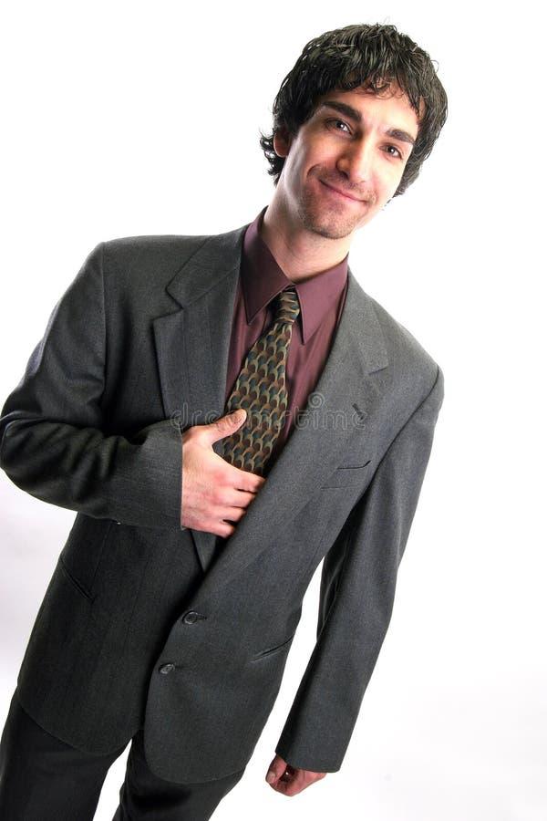 Het portret van de zakenman royalty-vrije stock fotografie