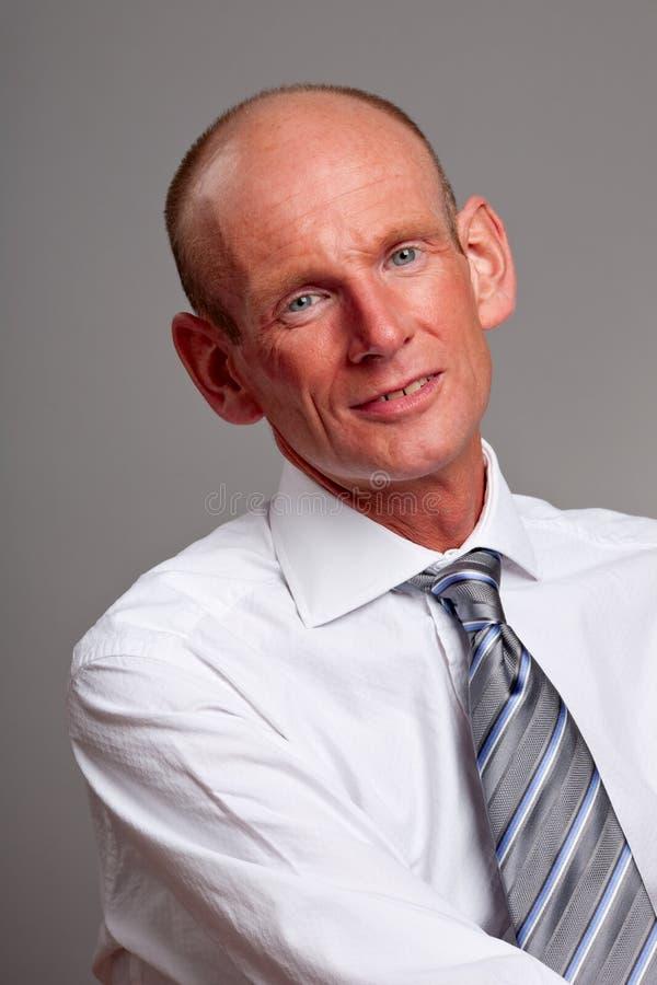 Het portret van de zakenman royalty-vrije stock afbeeldingen