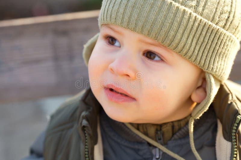 Het Portret van het kind royalty-vrije stock foto
