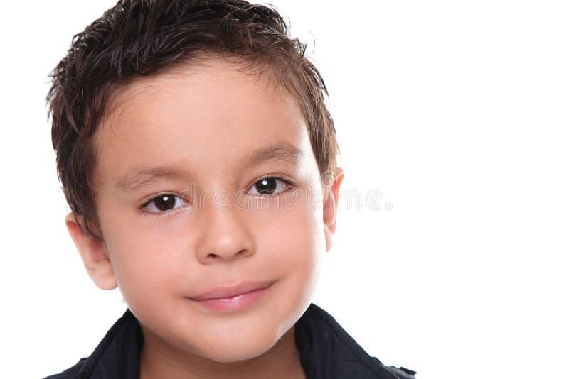Het portret van het kind stock fotografie