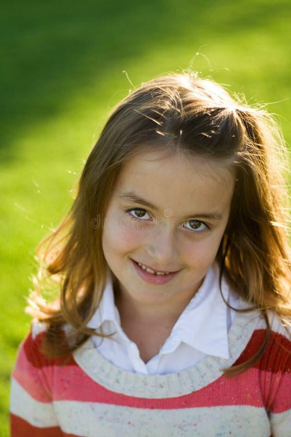 Het Portret van het kind stock foto