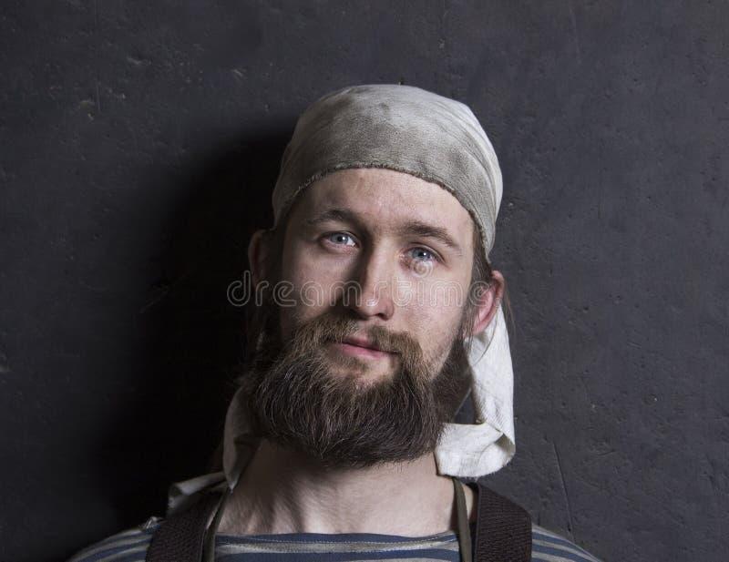 Het portret van smid stock foto